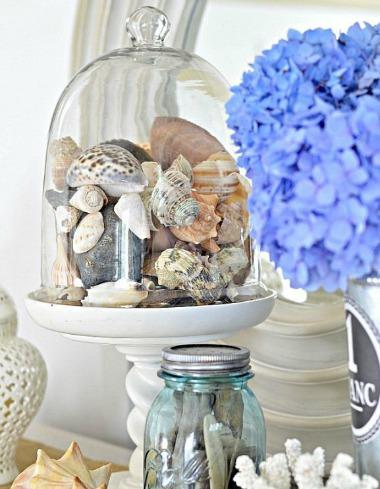 Seashell Cloche