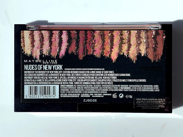 maybelline nudes of new york far paletini inceliyorum içerik