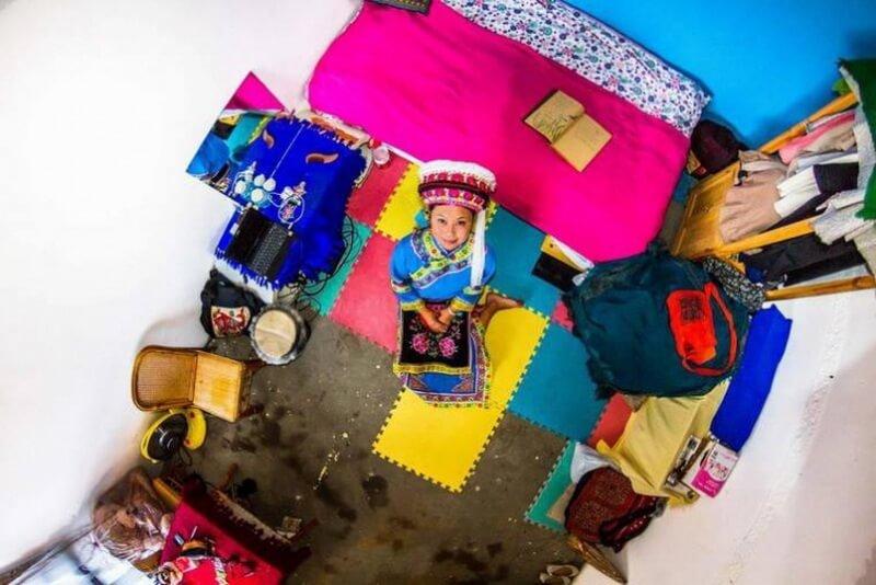 غرفة نوم من دالي - الصين