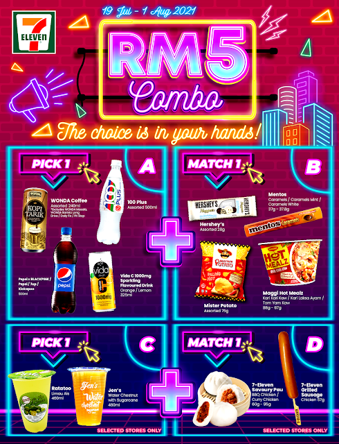 7-Eleven Malaysia Launches RM5 Combo
