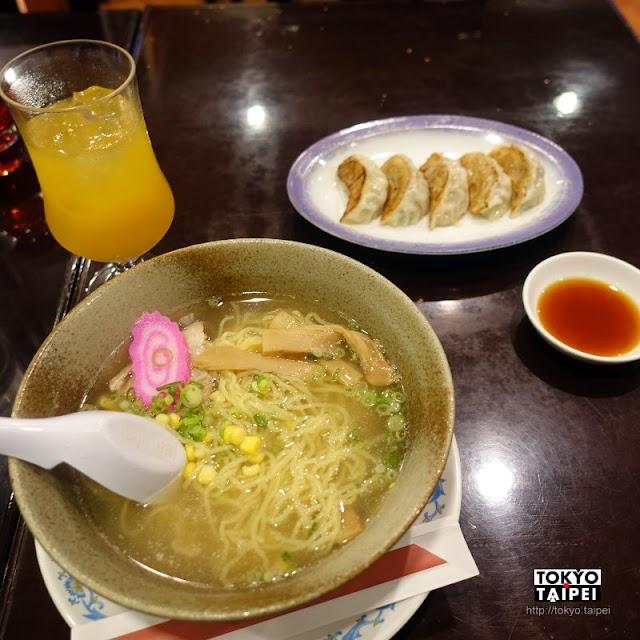 【花林】那霸機場的中國料理店 拉麵搭餃子配好喝的芒果泡盛