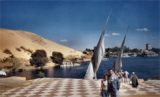 Asuan. Nilo