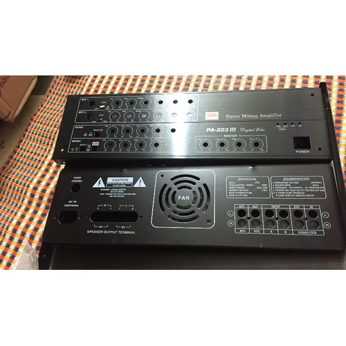 Vỏ ampli karaoke PA-203 GIÁ RẺ
