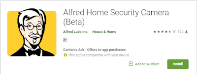 alfred home security camera with your smart phone