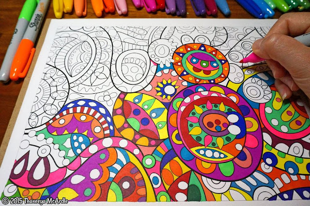 8. Adult Coloring Book