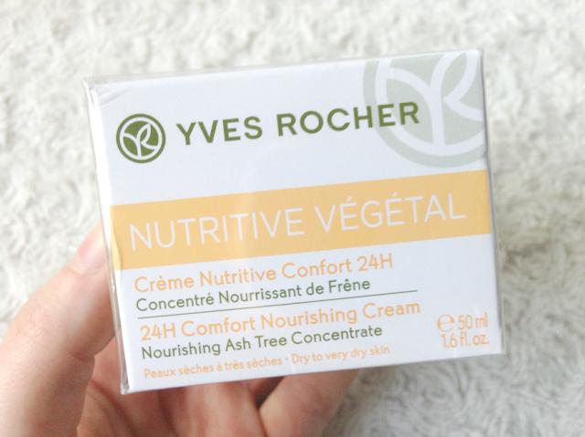 yves rocher nutritive vegetal voedende crème