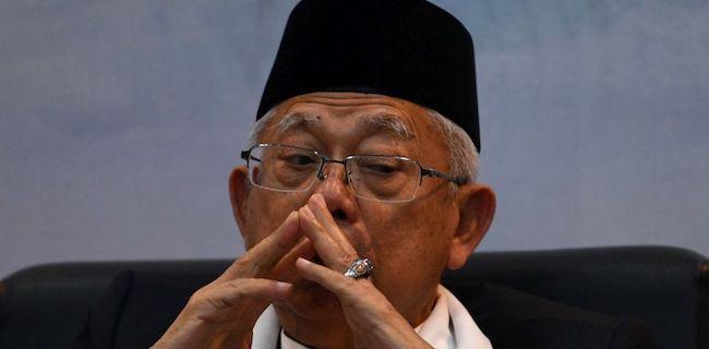 IPW: Masih Banyak Orang JK Di Istana Wapres, Maruf Amin Bagai Burung Dalam Sangkar