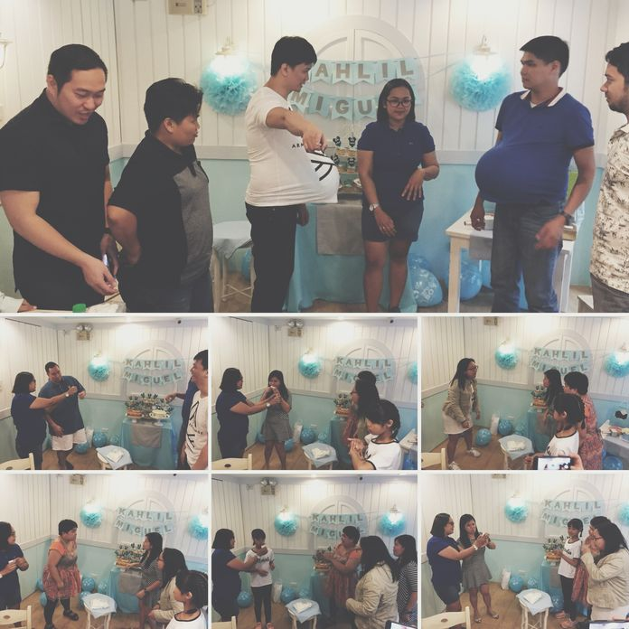 Fun and games during our Stacy's BGC baby shower