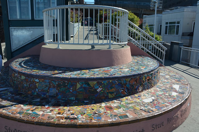 Seattle Waterfront mosaic