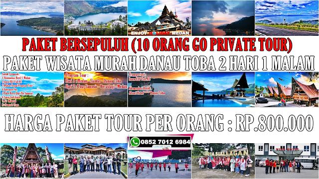 3 paket tour murah danau toba