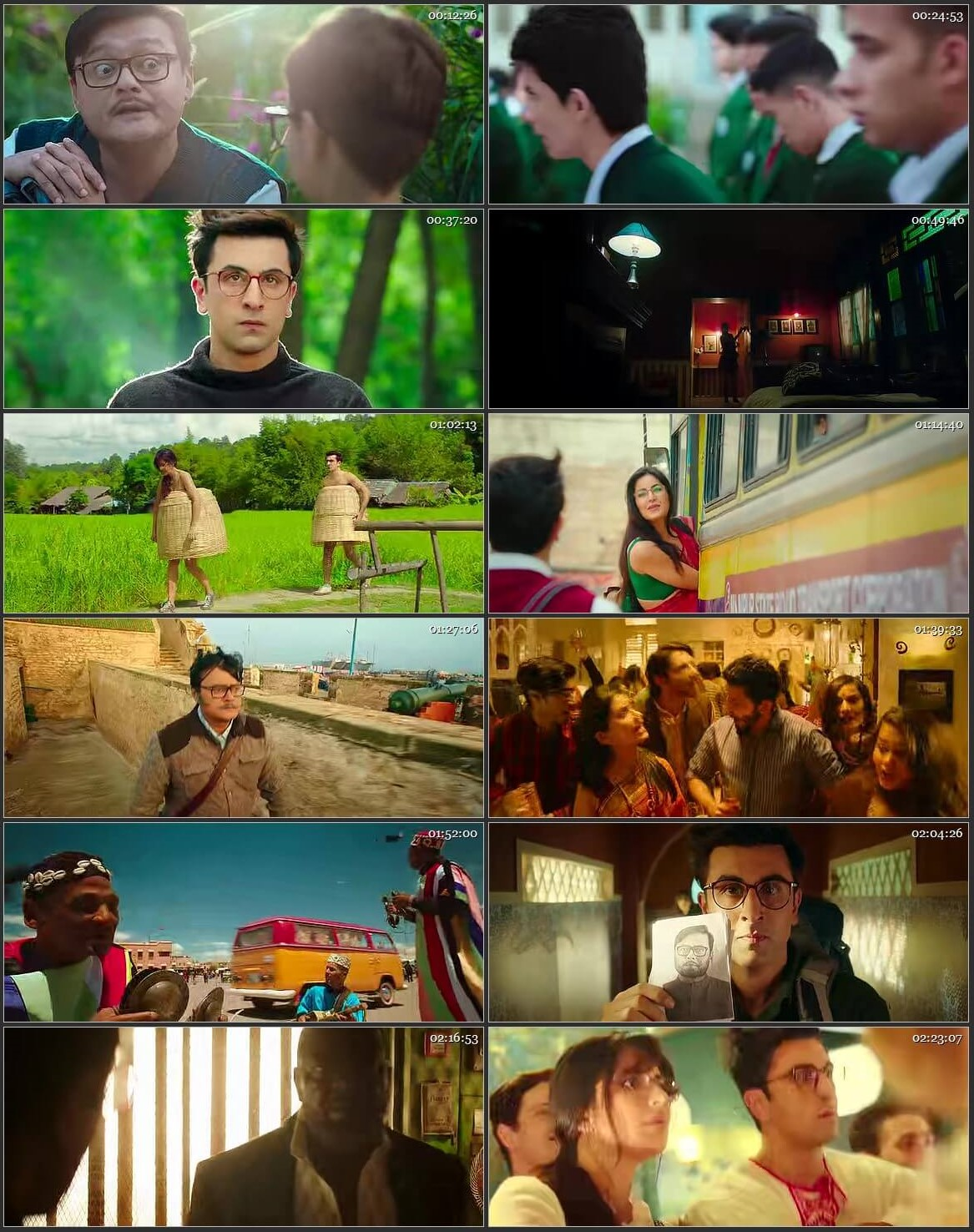 Jagga Jasoos 2017 Full Hindi Mobile Movie BRRip Free Download
