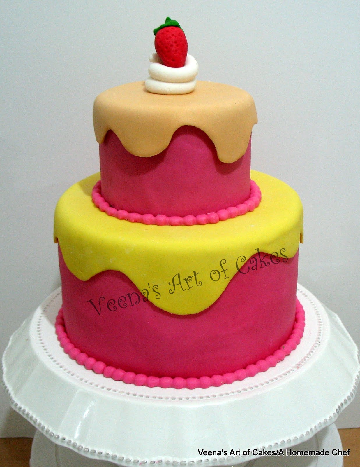 Giant Cupcake plus Drippy Birthday Cake Veena Azmanov
