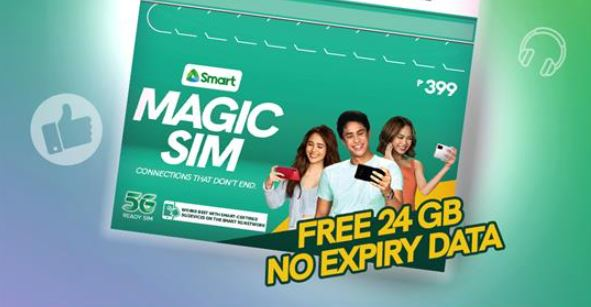 Smart launches Magic SIM with 24 GB no-expiry data