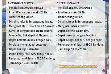 Lowongan Kerja Fast Print BEC Bandung