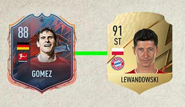 lewandowski fifa 22 karta