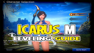 ICARUS M LEVELING GUIDE