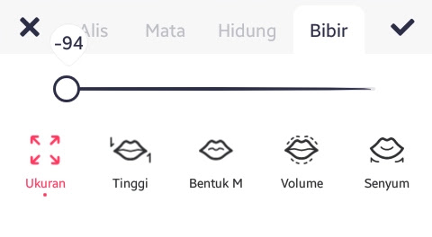 Tab Bibir