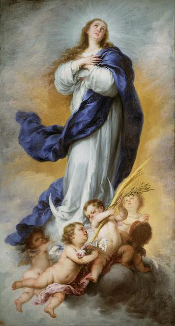 La Inmaculada de Aranjuez  - Bartolomé Esteban Murillo - Museo del Prado, MADRID