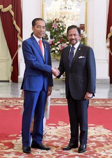 Photo Presiden Jokowi Terima Kunjungan Kehormatan Pimpinan Negara Sahabat