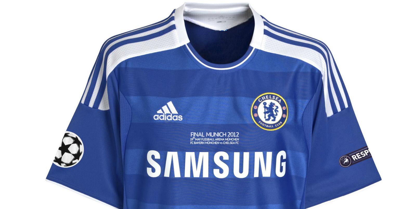 310e9e1314d01 FutCamisas  Camisa Adidas Chelsea UEFA Champions League Final Munich ...