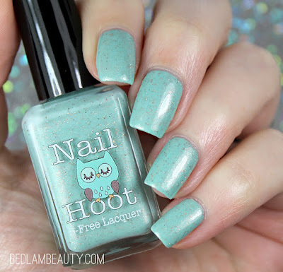Nail Hoot Hang On To Your Diapees, Babies  | Polish Pickup May 2018