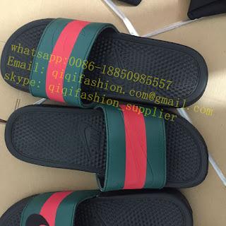 f7991c1129a29c How To Make Custom Gucci x Nike Sandals