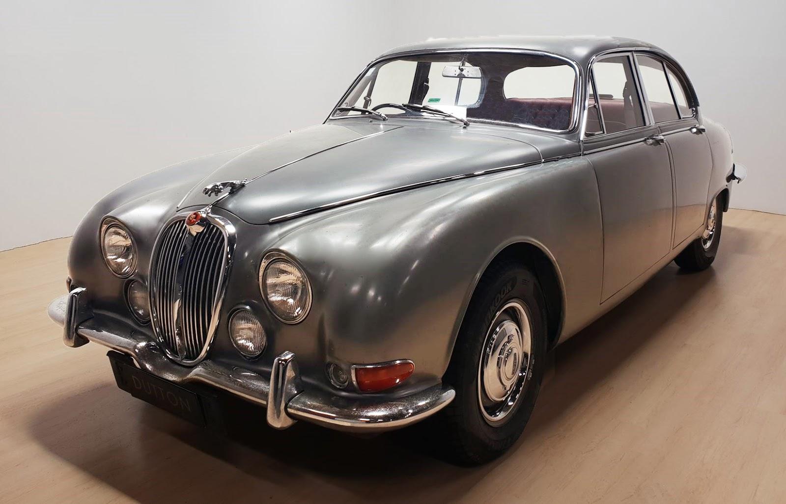 transpress nz: 1966 Jaguar S type