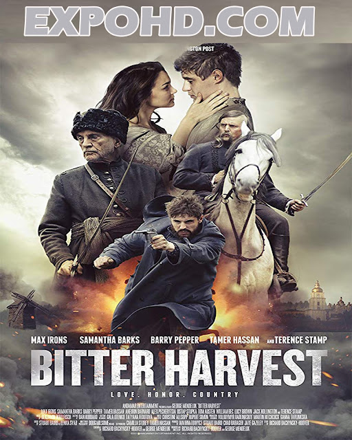 Bitter Harvest 2017 Full Movie Download 720p | 1080p | Esub 1.1Gbs [Watch Now] Netflix