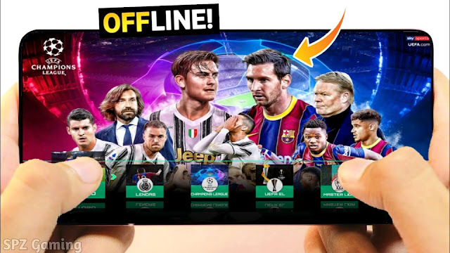 Download PES 2021 Android Offline Best Graphics Real Faces New Kits & Full Transfers