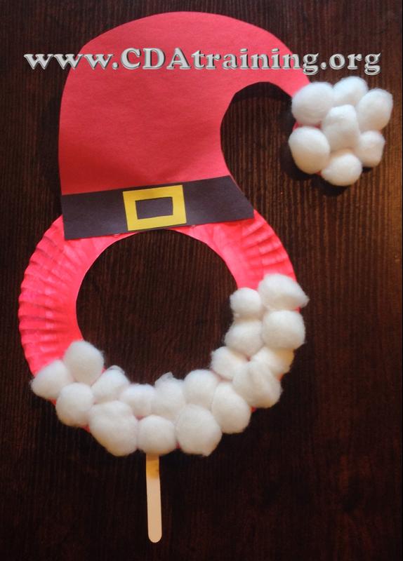 krokotak   Make a Santa Paper Plate   800x574