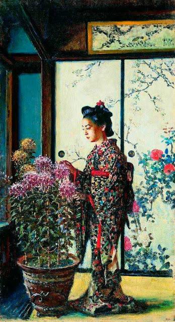 Василий Васильевич Верещагин - Японка. 1903