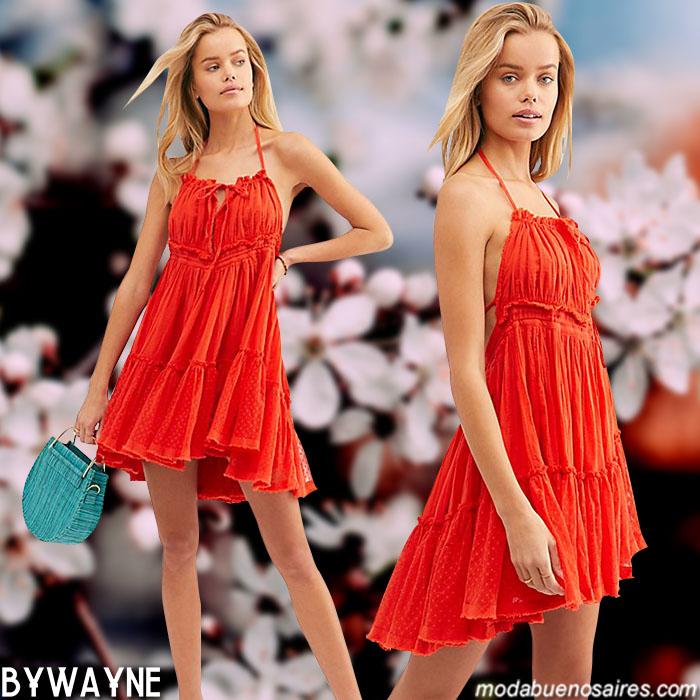 Moda primavera verano 2020 │Vestidos 2020 moda primavera verano.