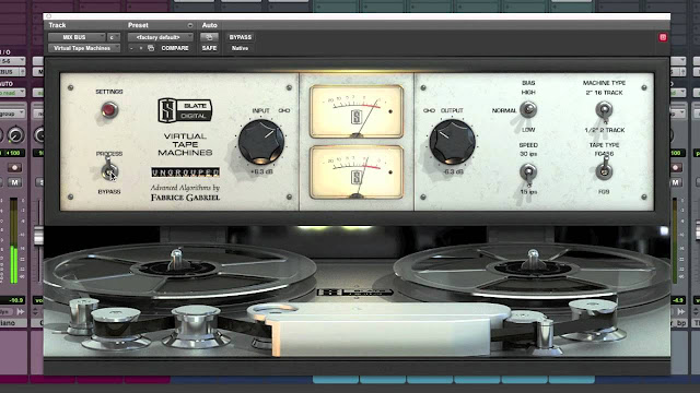 Virtual Tape Machines by Slate Digital