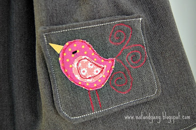 Little Birdie Applique + Tutorial