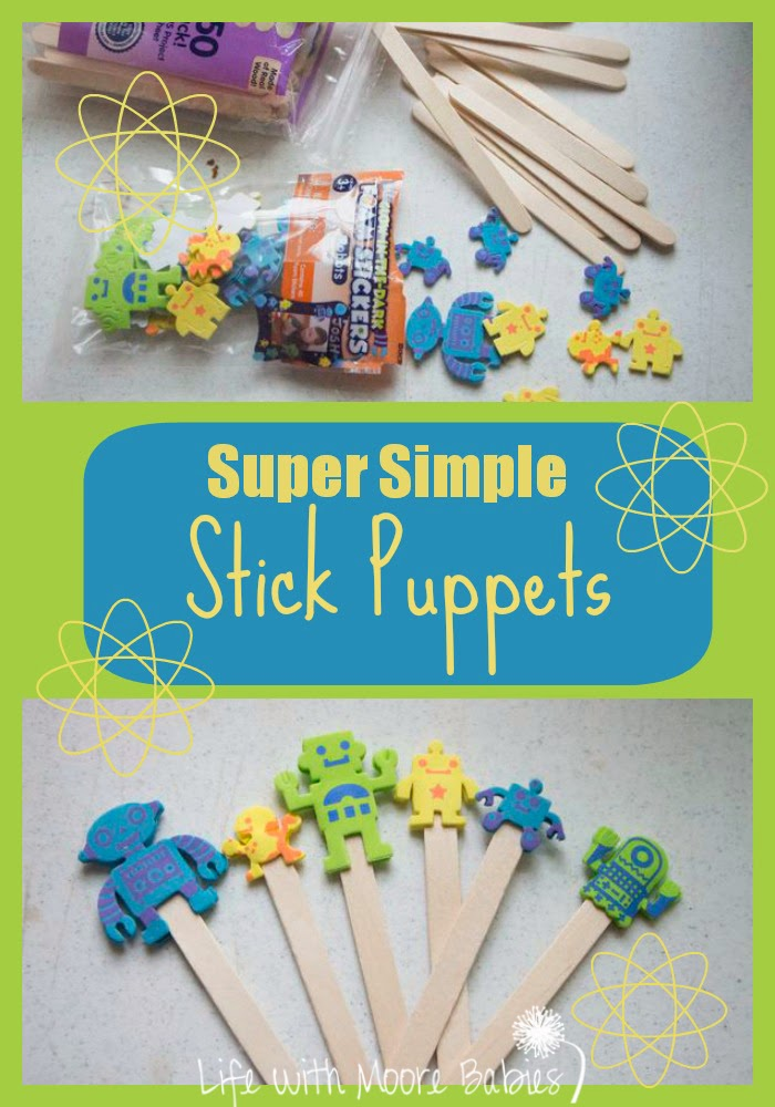 Super Simple Stick Puppets