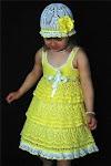 10 diseños de vestidos tejidos al crochet para niñas