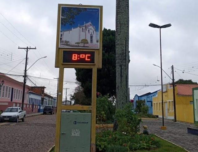 Piatã registra temperatura de 8°C , frio continua no final de semana