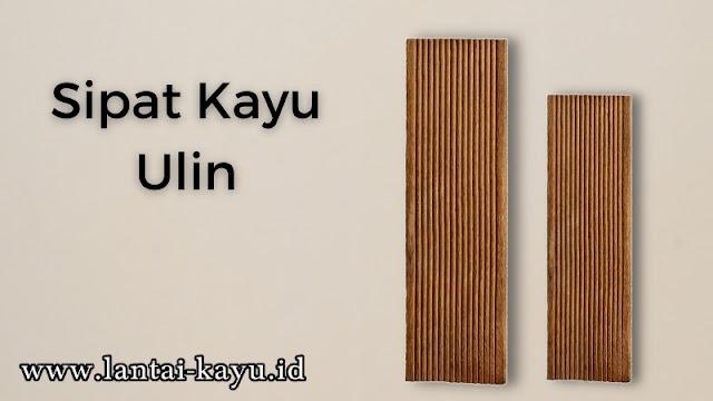 mengenal sipat kayu ulin