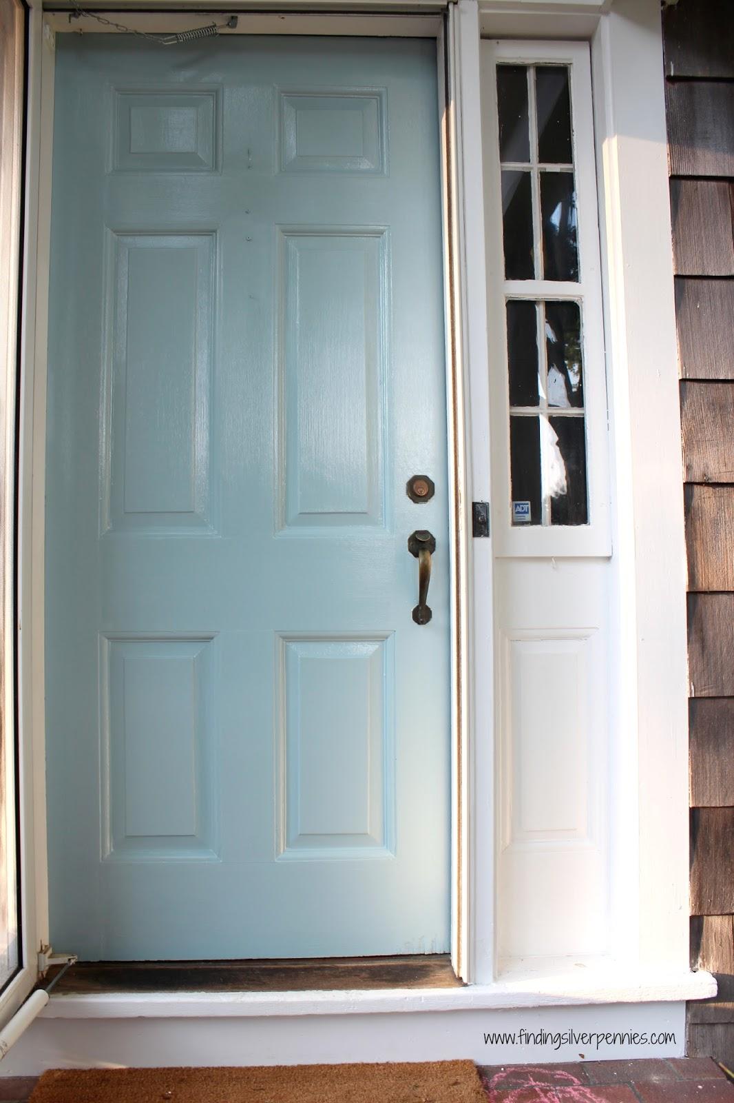 Exterior Door Colors: Finding Silver Pennies