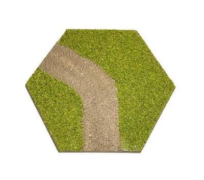 Hex Road (curve) Tile