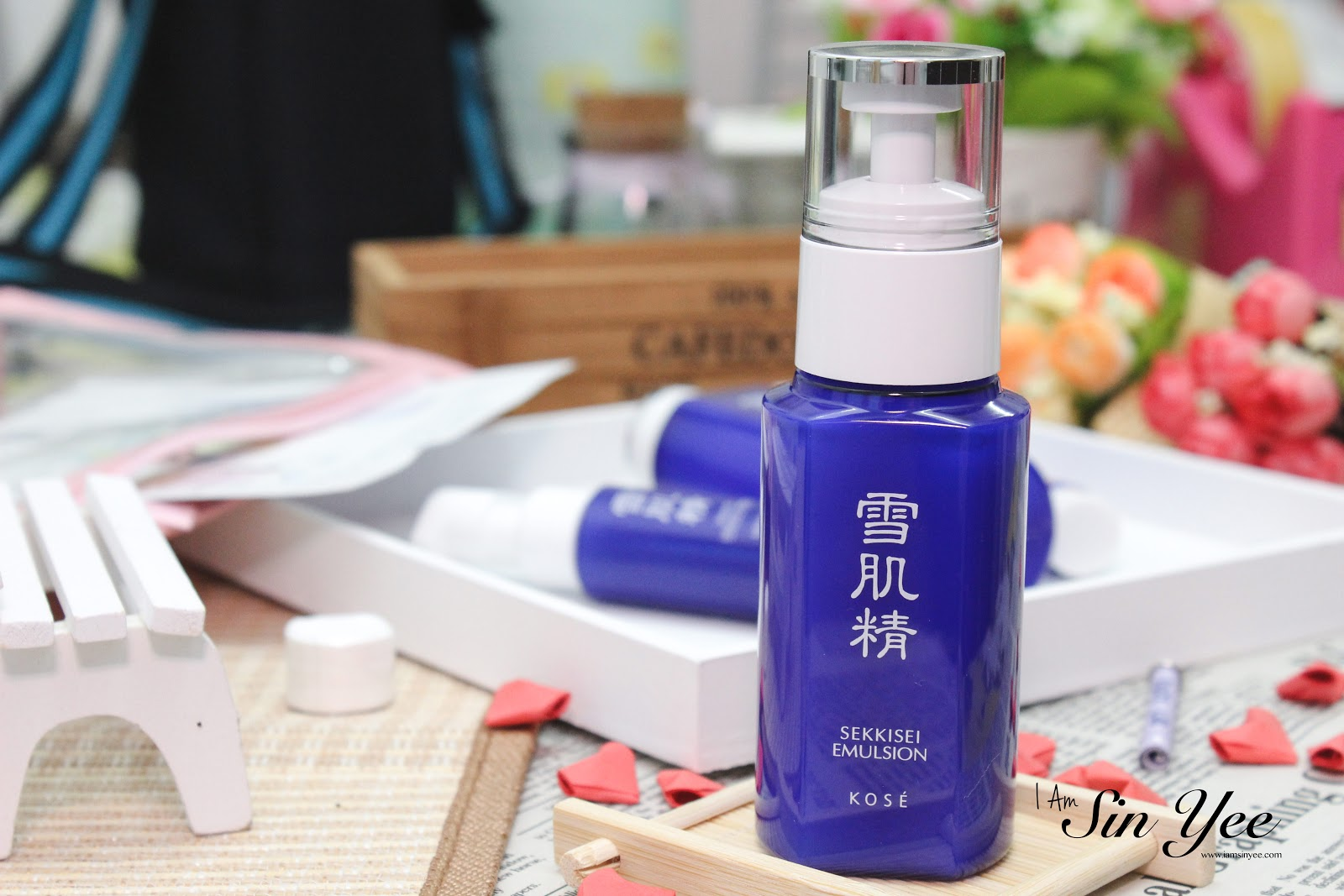 Review: KOSÉ SEKKISEI Special Edition Trial Kit - I Am Sin Yee