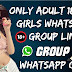 Only Adult 18+ Hot Girls WhatsApp Group Link