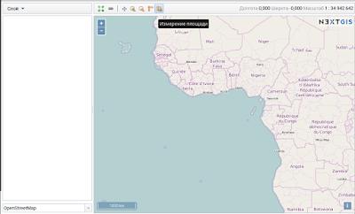 nextgis - основная веб-карта