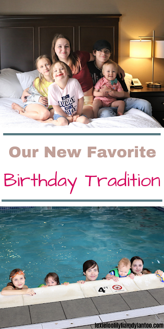 Our new favorite birthday tradition