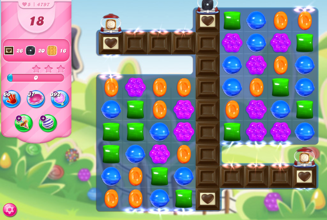 Candy Crush Saga level 4797