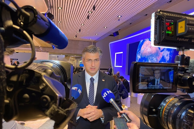 Croatian Prime Minister Plenkovic: Hope the EU Integration to be Unlocked for Albania and North Macedonia