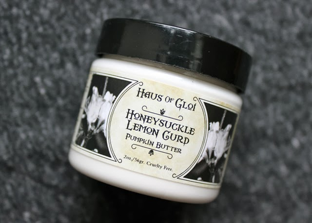 Haus of Gloi Pumpkin Butter Honeysuckle Lemon Curd