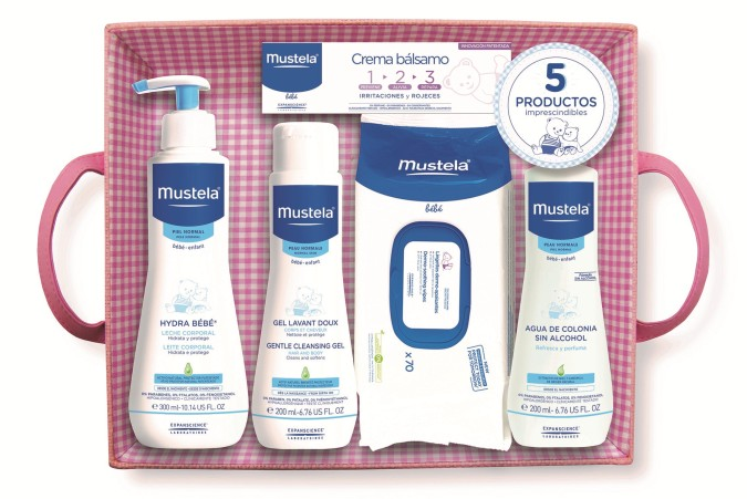 Sorteo: productos de higiene para bebé mustela