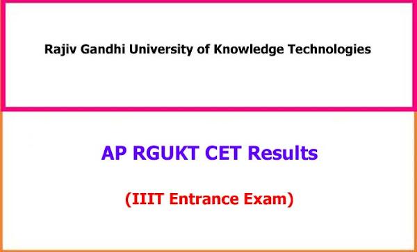 RGUKTCET Results