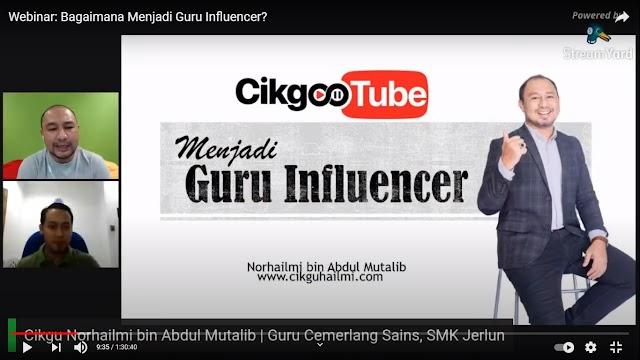 Webinar i-Guru: Bagaimana Menjadi Guru Influencer?